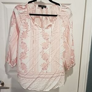 Nordstrom's Fred David light weight Blouse M
